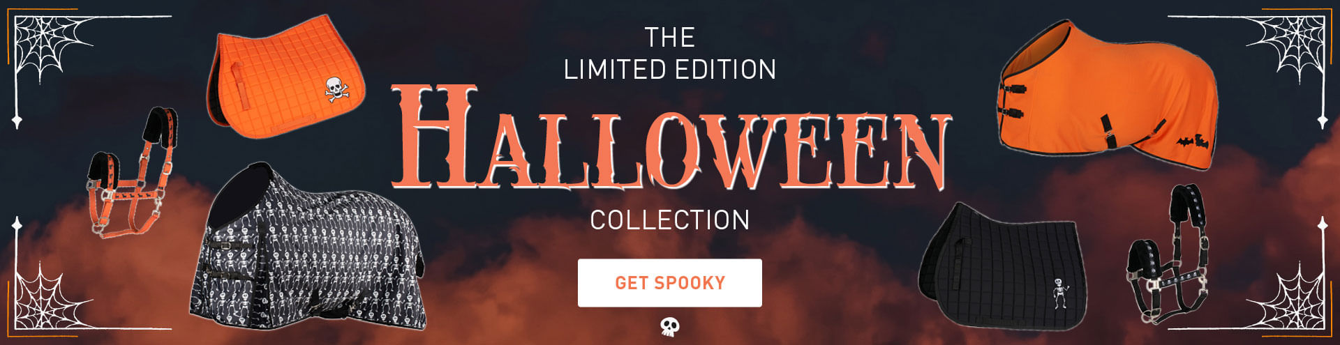 Horze halloween collection for horses