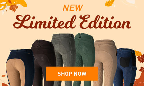 Limited Edition equestrian products for both rider and horse for fall