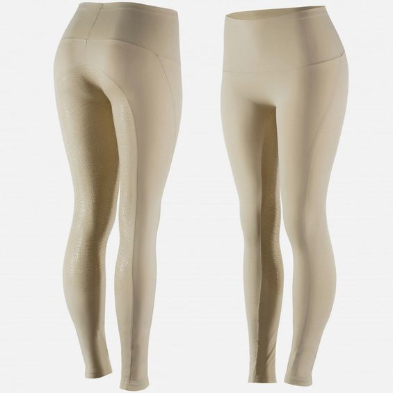 Horze Women's Bianca Full Seat Tights - Silicone Grip 36612-LBR-34