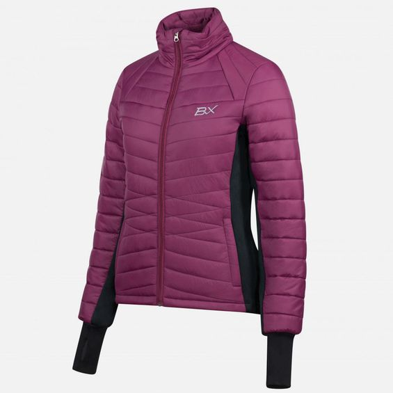 B Vertigo Women's BVX Roxy Light Quilted Jacket 33327-POPU-42