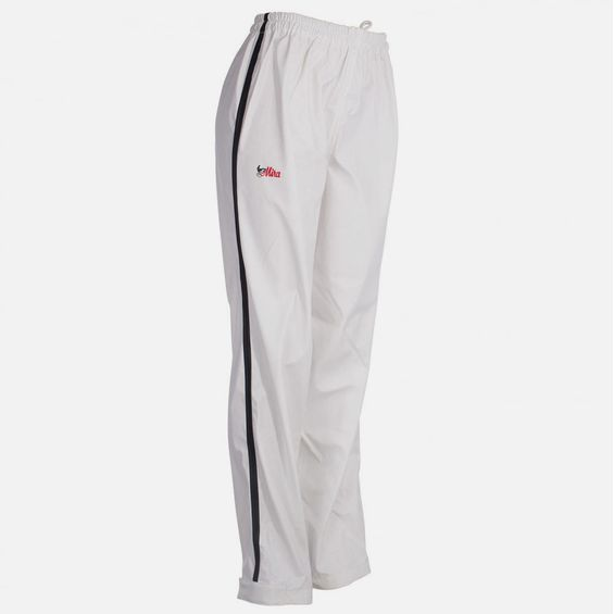 Mira Pull-On Low Waists Racing Trousers - Rain 316329-WH/BL-L